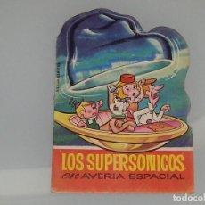 Libros de segunda mano: ANTIGUO CUENTO MINI TROQUELADO TELE COLOR 23 LOS SUPERSONICOS AVERIA ESPACIAL AÑO 1967 ED. BRUGUERA. Lote 136659137