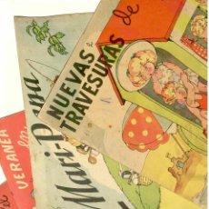 Libros de segunda mano: MARI PEPA LOTE 5 CUENTOS Y POSTALES. PRIMAVERA MADRID COLEGIO TRAVESURAS DEPORTISTA. Lote 69376833