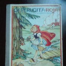 Libros de segunda mano: CAPERUCITA ROJA - CUENTO CON SUPLEMENTOS RECORTABLES - EDICIONES ORVY - ILUSTR. MARIA CLARET - . Lote 69547049
