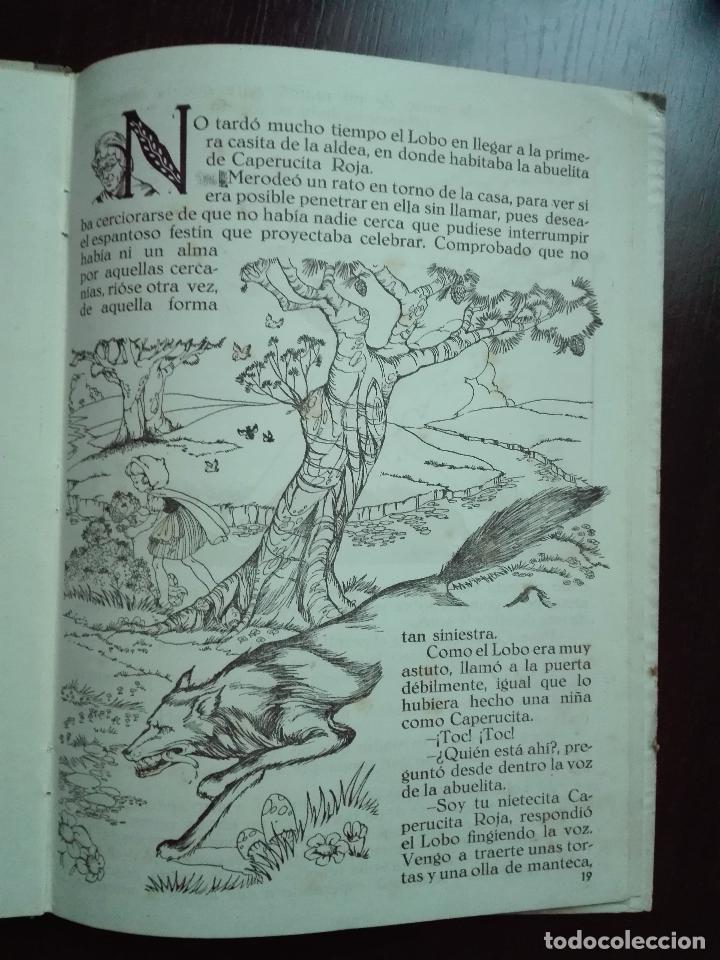 Libros de segunda mano: CAPERUCITA ROJA - CUENTO CON SUPLEMENTOS RECORTABLES - EDICIONES ORVY - ILUSTR. MARIA CLARET - - Foto 9 - 69547049