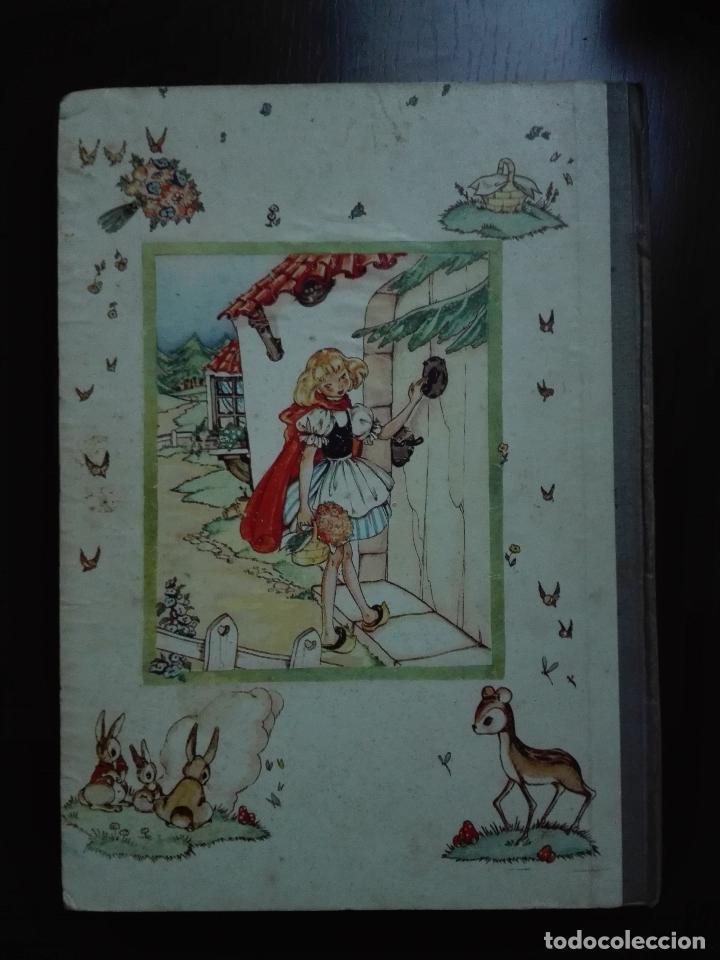 Libros de segunda mano: CAPERUCITA ROJA - CUENTO CON SUPLEMENTOS RECORTABLES - EDICIONES ORVY - ILUSTR. MARIA CLARET - - Foto 10 - 69547049