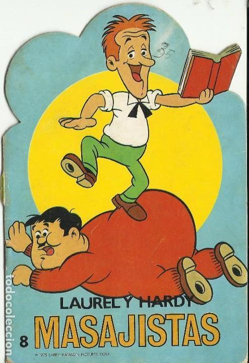 ANTIGUO CUENTO TROQUELADO DEL GORDO Y EL FLACO DE LA EDITORIAL ROMA DE 1.975 (Libros de Segunda Mano - Literatura Infantil y Juvenil - Cuentos)