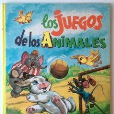 Libros de segunda mano: CUENTO. LOS JUEGOS DE LOS ANIMALES Y LA ESCUELA DE LOS ANIMALES. EDITORIAL VASCO AMERICANA, 1964. Lote 69760877