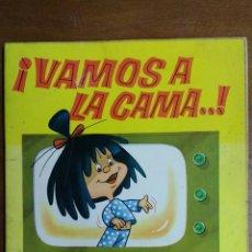 Libros de segunda mano: CUENTO. VAMOS A LA CAMA.FAMILIA TELERIN. BRUGUERA. 1964. Lote 69878515