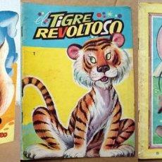 Libros de segunda mano: 3 CUENTOS DE LOS 60 LA ARDILLA Y TIMOTEO, EL TIGRE REVOLTOSO, EL RATON BANDIDO. Lote 69918213