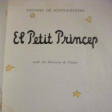 Libros de segunda mano: EL PETIT PRINCEP - PRIMERA EDICIO 1959 ESTELA - EL PRINCIPITO. Lote 70167425