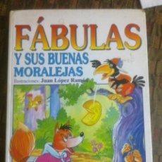 Libros de segunda mano: FABULAS. ESOPO Y SAMANIEGO.. Lote 71196757