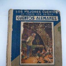 Libros de segunda mano: CUENTOS ALEMANES - - PUBLICACIONES ARALUCE - 1942 - 77 PAGINAS. Lote 71734559