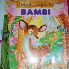 Libros de segunda mano: CUENTO DE BAMBI. Lote 71948739