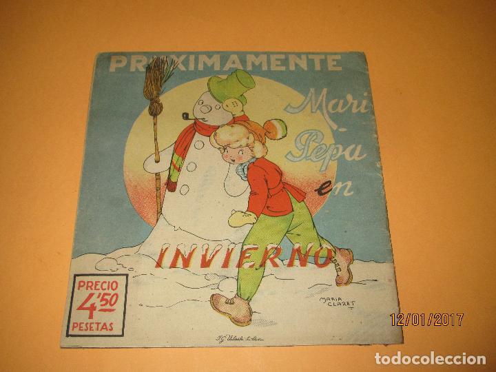 Libros de segunda mano: Antiguo Cuento MARI-PEPA en OTOÑO de Emilia Cotarelo con Ilustraciones de Maria Claret - Foto 2 - 72262215