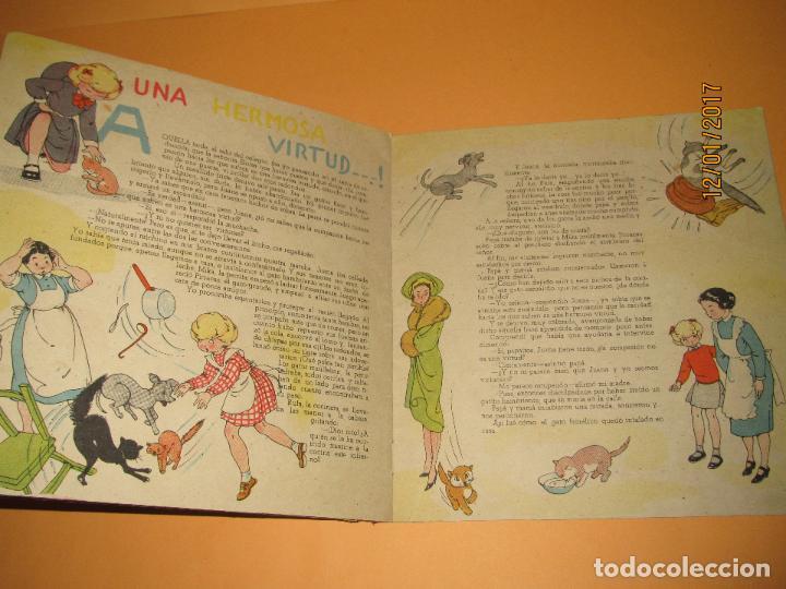 Libros de segunda mano: Antiguo Cuento MARI-PEPA en OTOÑO de Emilia Cotarelo con Ilustraciones de Maria Claret - Foto 3 - 72262215