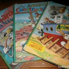 Libros de segunda mano: LOTE 3 CUENTOS COLECCIÓN PEQUEÑOS TRABAJADORES - Nº 1,2,3 - EDT. VASCO AMERICANA - 1967.. Lote 72298419