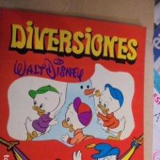 Libros de segunda mano: WALT DISNEY / DIVERSIONES Nº 2 - SUSAETA 1972 - PERFECTO ESTADO STOCK DE TIENDA. Lote 72830647
