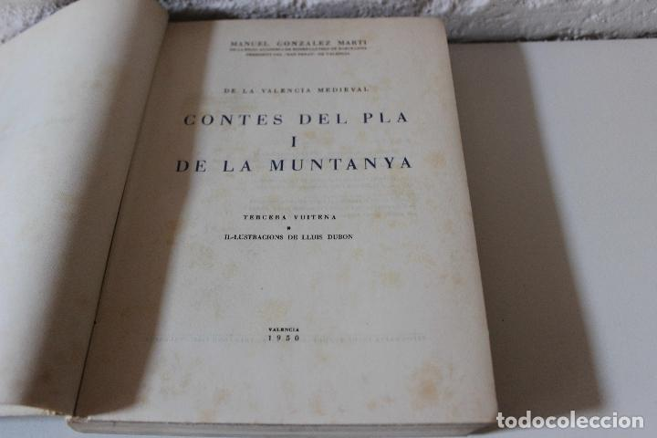 De la valencia medieval contes del pla i de la comprar - Libreria segunda mano valencia ...