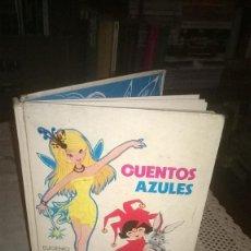 Libros de segunda mano: CUENTOS INFANTILES DE ANDERSEN, -CUENTOS AZULES,. Lote 73551235