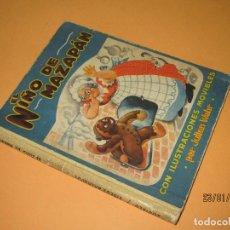 Libros de segunda mano: CUENTO EL NIÑO DE MAZAPÁN ILUSTRACIONES MOVILES POP-UP POR JULIAN WEHR Y EDICIONES ZODIACO AÑO 1947. Lote 73926015