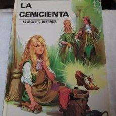 Libros de segunda mano: LA CENICIENTA-LA ARDILLITA MENTIROSA.CUENTOS DE ILUSION Nº 2.EDITORIAL VASCO AMERICANA 1974. Lote 74301071