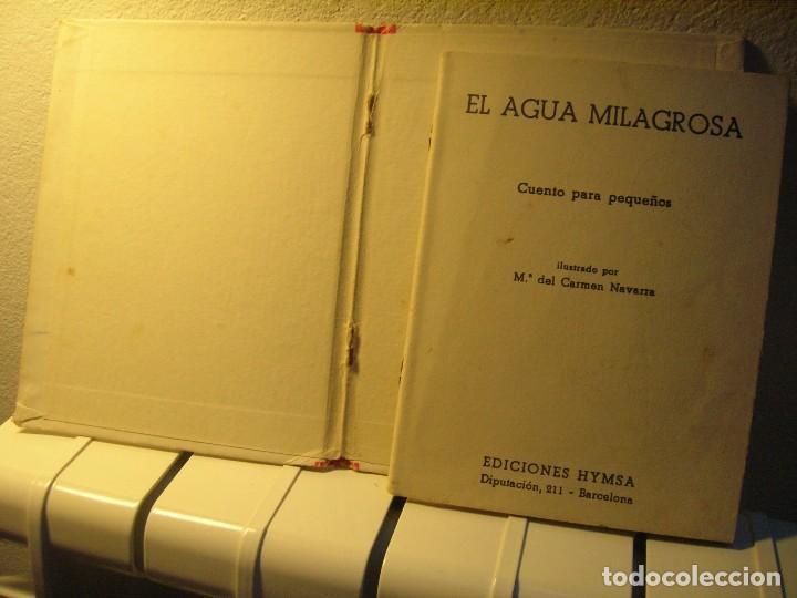 Libros de segunda mano: El agua milagrosa (desgrapado de las tapas y escrito en ultimapágina, no escrita)) - Foto 2 - 74338083