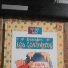 Libros de segunda mano: WINNIE THE POOH DESCUBRE LOS CONTRARIOS - DISNEY. Lote 75540775