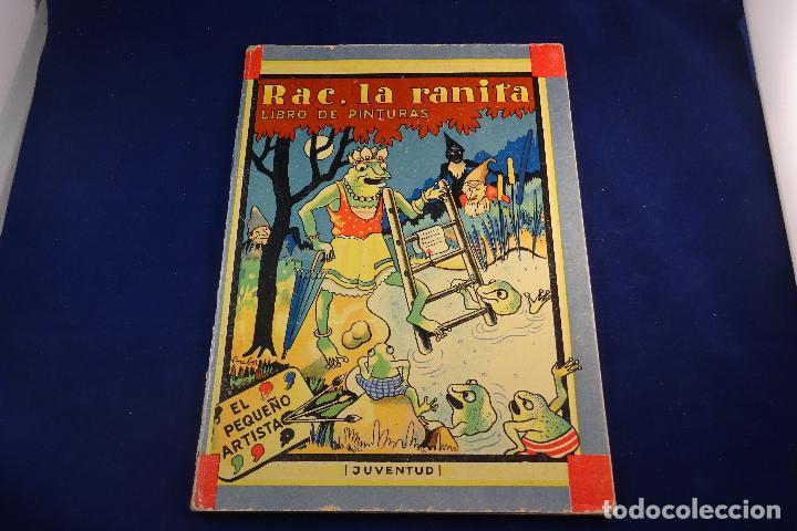interesante libro de pinturas - rac, la ranita - Comprar Libros de ...