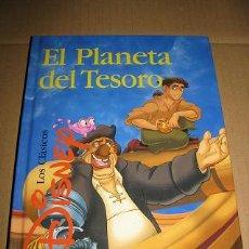 Libros de segunda mano: EL PLANETA DEL TESORO (LOS CLASICOS DISNEY) ¡¡OFERTA 3X2 EN LIBROS!! (LEER DESCRIPCION). Lote 76630511