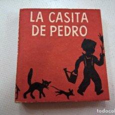 Libros de segunda mano: LA CASITA DE PEDRO-.LIBROS PEQUEÑINES-.EDITORIAL JUVENTUD-PRIMERA EDICION AÑO 1954-N. Lote 76894483