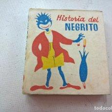 Libros de segunda mano: HISTORIA DEL NEGRITO-.LIBROS PEQUEÑINES-.EDITORIAL JUVENTUD-SEGUNFDA EDICION AÑO 1953-N. Lote 76894867