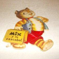 Libros de segunda mano: MIX Y SU CASCABEL CUENTO TROQUELADO. Lote 77248465