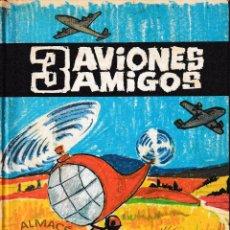 Libros de segunda mano: 3 AVIONES AMIGOS (OLLÉ / BASSÓ 1971) SIN USAR.. Lote 77491469