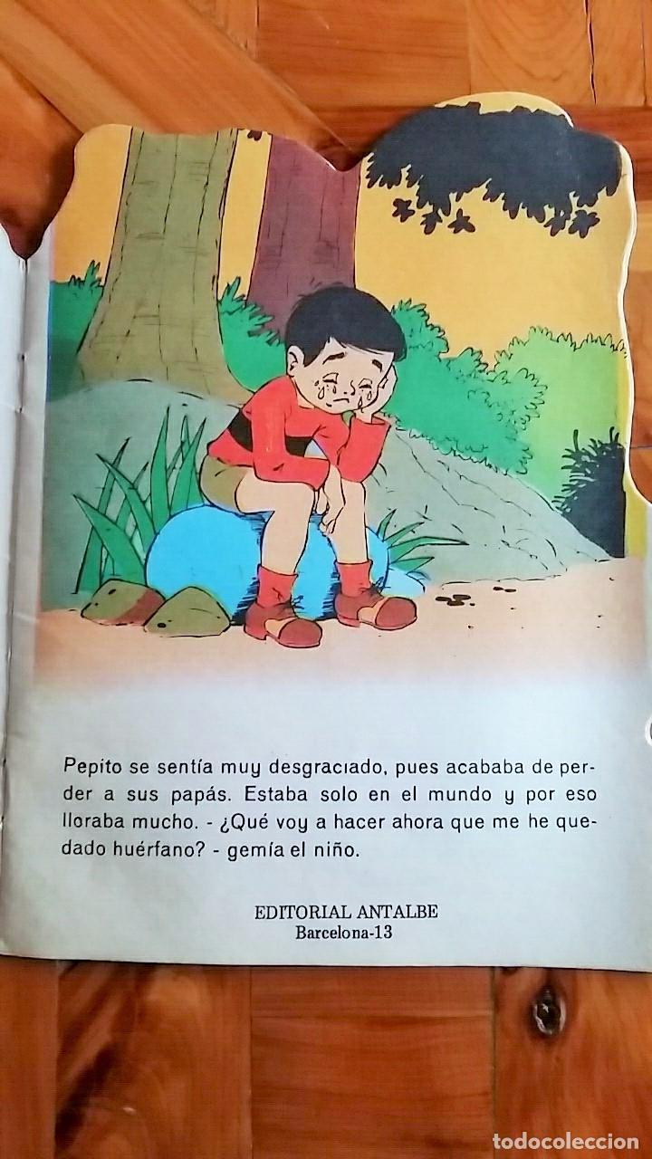 Libros de segunda mano: CUENTO TROQUELADO EL PEQUEÑO PAYASO. EDITORIAL ANTALBE, BARCELONA. 1981 - Foto 2 - 78312577