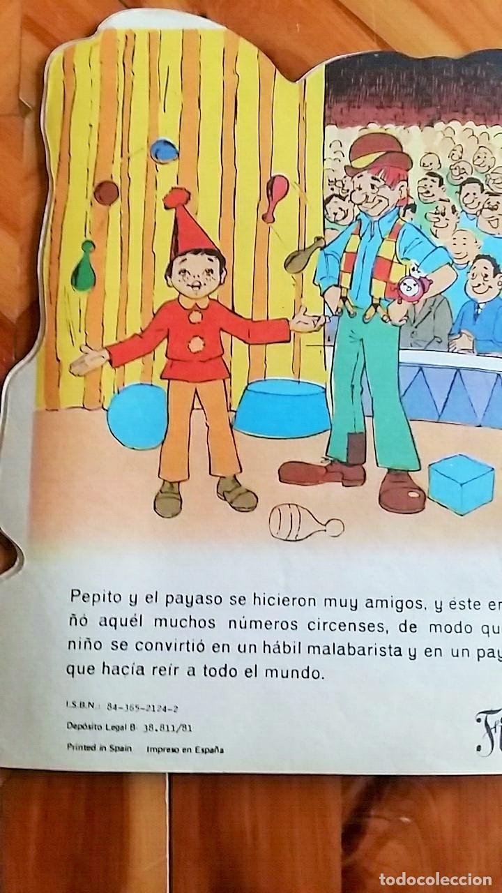 Libros de segunda mano: CUENTO TROQUELADO EL PEQUEÑO PAYASO. EDITORIAL ANTALBE, BARCELONA. 1981 - Foto 3 - 78312577