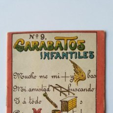 Libros de segunda mano: GARABATOS INFANTILES Nº 9 CUENTO DE ROVIRA Y CHIQUÉS AÑOS 40. Lote 78603821