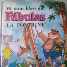 Libros de segunda mano: LIBRO DE FABULAS LA FONTAINE. Lote 78673701