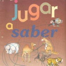 Libros de segunda mano: CUENTO. JUGAR A SABER. LOS ANIMALES DEL MUNDO. LIBRO PARA DIBUJAR. (P/C6). Lote 79541049
