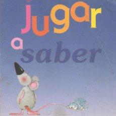 Libros de segunda mano: CUENTO. JUGAR A SABER. LOS CONTRARIOS. LIBRO PARA DIBUJAR. (P/C6). Lote 79541129