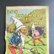 Libros de segunda mano: CUENTO DE CALLEJA. LOS ENANOS DE ORO. SERIE XI TOMO Nº220. Lote 79848269