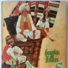 Libros de segunda mano: CUENTOS DE HADAS TURCOS. Nº 16. EDITORIAL MOLINO, 1959. BUEN ESTADO.. Lote 80414009