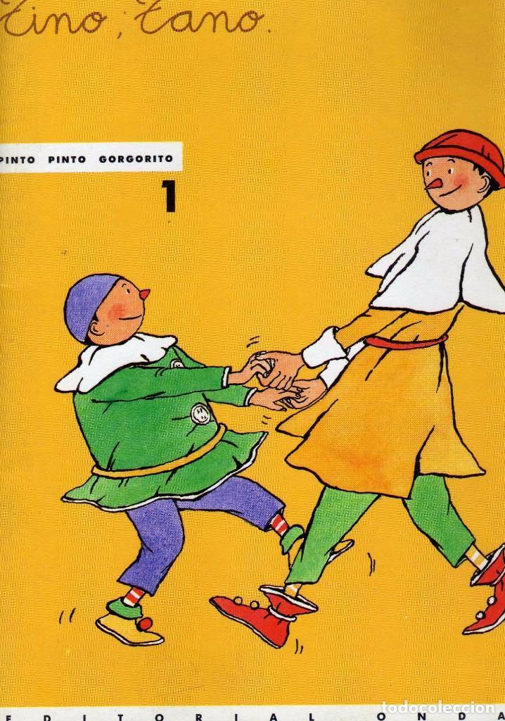 TINO, TANO.PINTO PINTO GORGORITO . EDITORIAL ONDA (Libros de Segunda Mano - Literatura Infantil y Juvenil - Cuentos)