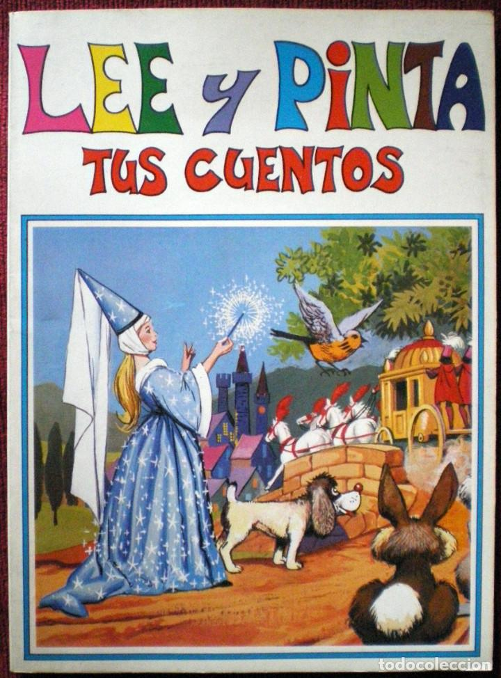 LEE Y PINTA TUS CUENTOS COLECCIÓN EL CONEJITO GAVIOTA 1986- Nº 6 2 CUENTOS (Libros de Segunda Mano - Literatura Infantil y Juvenil - Cuentos)