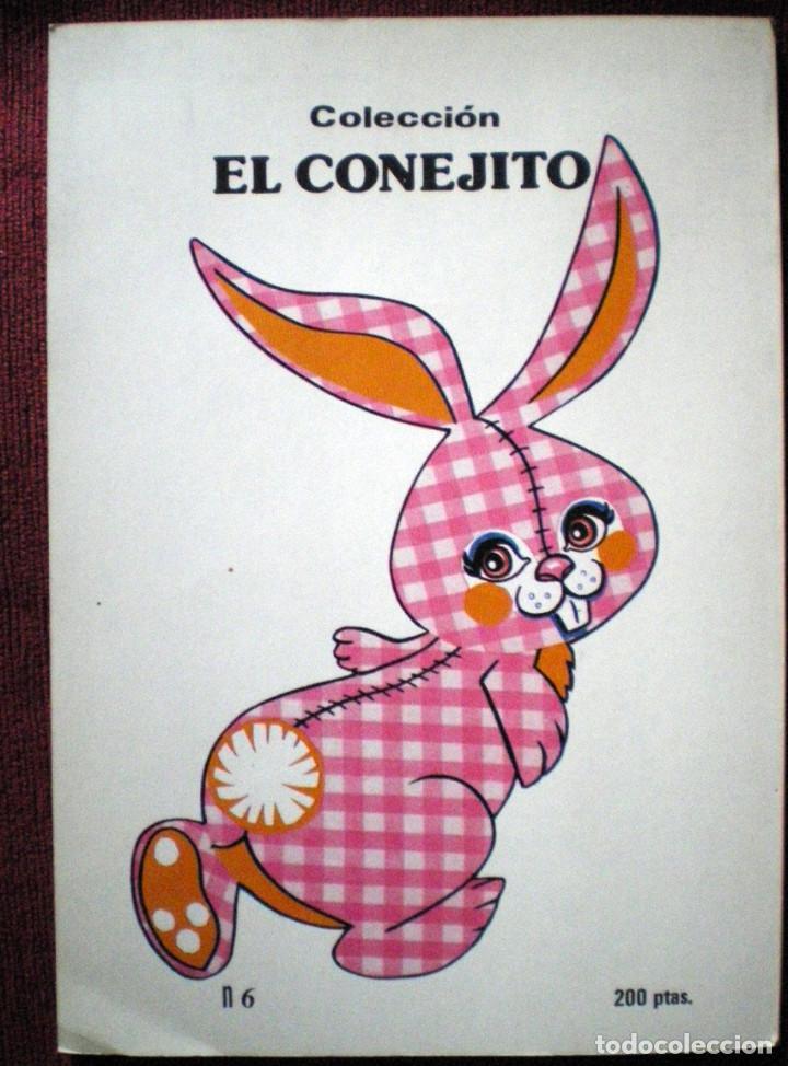 Libros de segunda mano: Lee y pinta tus cuentos colección el conejito Gaviota 1986- nº 6 2 cuentos - Foto 2 - 81054628