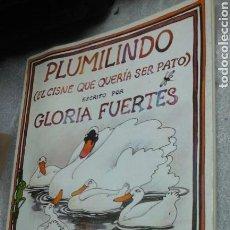 Libros de segunda mano: PLUMILINDO.GLORIA FUERTES.1983. Lote 82478896