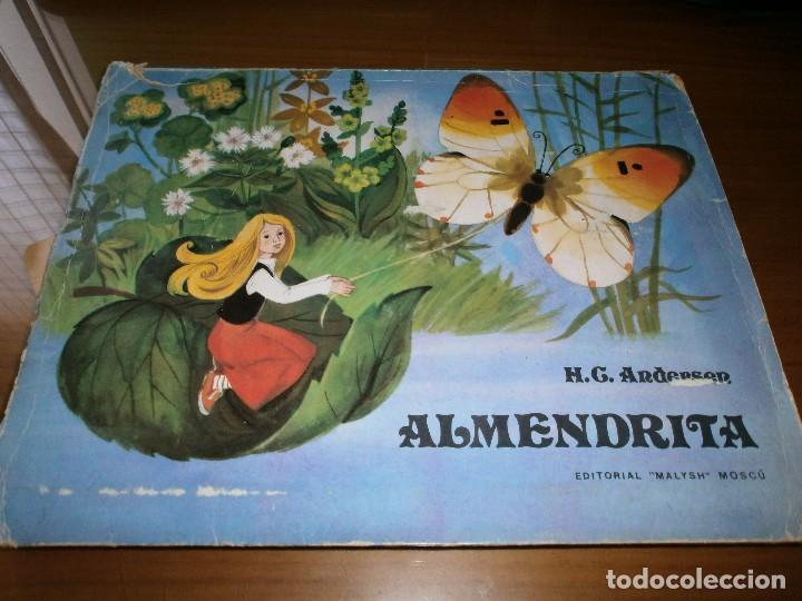 CUENTO POP-UP ALMENDRITA - H.C. ANDERSEN - ILUSTRADO POR SHEVARIOVA - EDT. MALYSH, MOSCÚ, 1982. (Libros de Segunda Mano - Literatura Infantil y Juvenil - Cuentos)