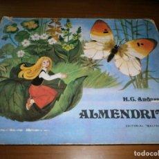 Libros de segunda mano: CUENTO POP-UP ALMENDRITA - H.C. ANDERSEN - ILUSTRADO POR SHEVARIOVA - EDT. MALYSH, MOSCÚ, 1982.. Lote 82916548