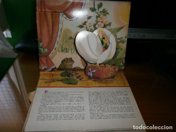 Libros de segunda mano: CUENTO POP-UP ALMENDRITA - H.C. ANDERSEN - ILUSTRADO POR SHEVARIOVA - EDT. MALYSH, Moscú, 1982. - Foto 2 - 82916548