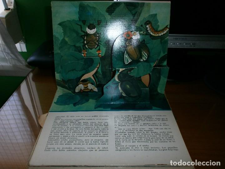 Libros de segunda mano: CUENTO POP-UP ALMENDRITA - H.C. ANDERSEN - ILUSTRADO POR SHEVARIOVA - EDT. MALYSH, Moscú, 1982. - Foto 4 - 82916548