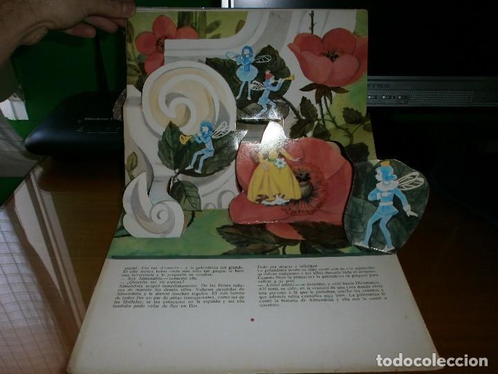 Libros de segunda mano: CUENTO POP-UP ALMENDRITA - H.C. ANDERSEN - ILUSTRADO POR SHEVARIOVA - EDT. MALYSH, Moscú, 1982. - Foto 10 - 82916548