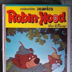 Libros de segunda mano: ROBIN HOOD / COLECCIÓN SONRISA / WALT DISNEY / EDICIONES RECREATIVAS S.A. / 1974. Lote 83072364