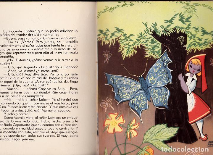 Libros de segunda mano: CAPERUCITA ROJA. CHARLES PERRAULT. ILUSTRACIONES DE PABLO RAMIREZ. EDITORIAL MOLINO - Foto 3 - 83557240