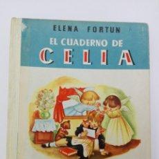 Libros de segunda mano: EL CUADERNO DE CELIA ( PRIMERA COMUNION ) AÑO 1955. Lote 83900984