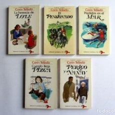 Libros de segunda mano: LOTE 5 LIBROS CORÍN TELLADO.CUENTOS JUVENILES.. Lote 83924891